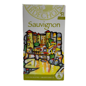 Bib Ardechois Sauvignon Blanc 5L